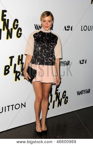 """LOS ANGELES - JUN 4:  Chloe Sevigny arrivesa at the """"The Bling Ring"""" Los Angeles Premiere at the DGA Theater on June 4, 2013 in Los Angeles, CA"""