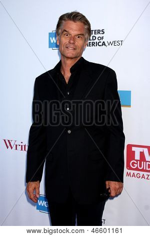 LOS ANGELES - JUN 2:  Harry Hamlin arrives at the WGA's 101 Best Written Series Announcement at the Writers Guild of America Theater on June 2, 2013 in Beverly Hills, CA