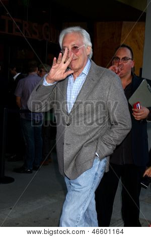 LOS ANGELES - JUN 2:  Steven Bochco arrives at the WGA's 101 Best Written Series Announcement at the Writers Guild of America Theater on June 2, 2013 in Beverly Hills, CA