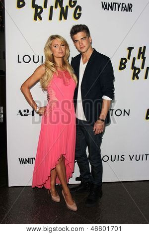 "LOS ANGELES - JUN 4:  Paris Hilton, River Viiperi arrivesa at the ""The Bling Ring"" Los Angeles Premiere at the DGA Theater on June 4, 2013 in Los Angeles, CA"