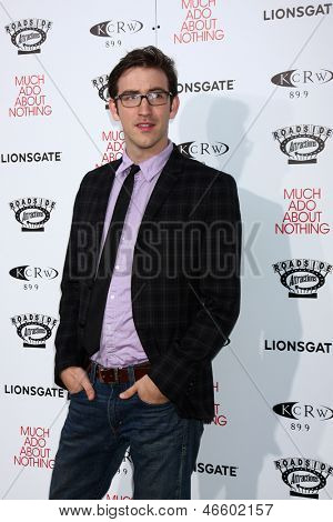 LOS ANGELES - JUN 5:  Brian McElhaney arrives at the