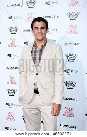 LOS ANGELES - JUN 5:  Nick Kocher arrives at the