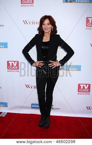 LOS ANGELES - JUN 2:  Marilu Henner arrives at the WGA's 101 Best Written Series Announcement at the Writers Guild of America Theater on June 2, 2013 in Beverly Hills, CA