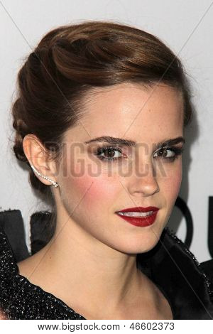 "LOS ANGELES - JUN 4:  Emma Watson arrivesa at the ""The Bling Ring"" Los Angeles Premiere at the DGA Theater on June 4, 2013 in Los Angeles, CA"