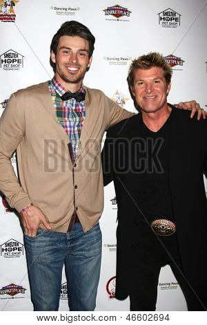 LOS ANGELES - JUN 3:  Winsor Harmon, Adam Gregory at the Player Concert celebrating Devin DeVasquez 50th Birthday to benefit Shelter Hope Pet Shop at the Canyon Club on June 3, 2013 in Agoura, CA