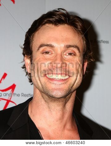 """LOS ANGELES - JUN 4:  Daniel Goddard arrives at SAG-AFTRA Panel Discussion With The Cast Of """"The Young And The Restless"""" at the SAG-AFTRA Headquarters on June 4, 2013 in Los Angeles, CA"""