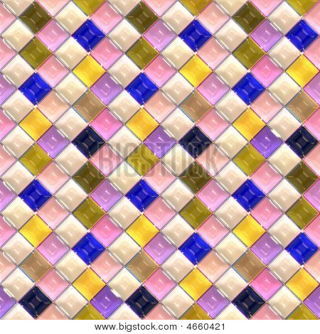 Glossy Tile Pattern
