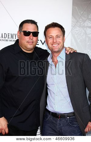 LOS ANGELES - JUN 8:  Greg Grunberg, Chris Harrison at the 2nd Annual T.H.E EVENT at the Calabasas Tennis and Swim Center on June 8, 2013 in Calabasas, CA