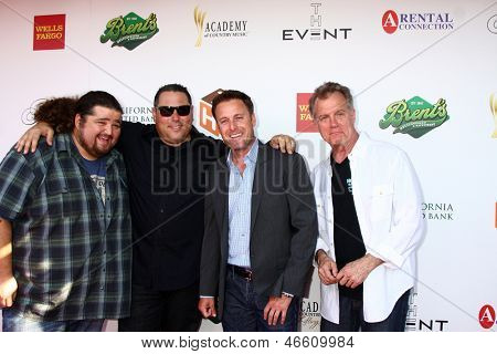 LOS ANGELES - JUN 8:  Jorge Garcia, Greg Grunberg, Chris Harrison, Stephen Collins at the 2nd Annual T.H.E EVENT at the Calabasas Tennis and Swim Center on June 8, 2013 in Calabasas, CA