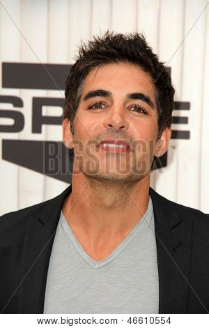 LOS ANGELES - JUN 8:  Galen Gering arrives at the Spike Guy's Choice Awards 2013 at the Sony Studios on June 8, 2013 in Culver City, CA