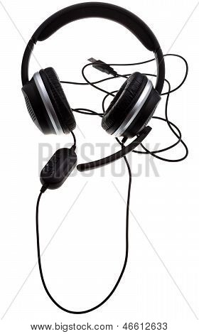 Black Headphones With Usb Port