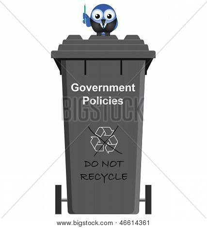 Government policy bin