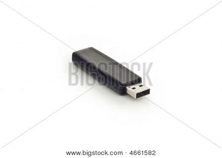 Usb Memory Stick Isolated On White