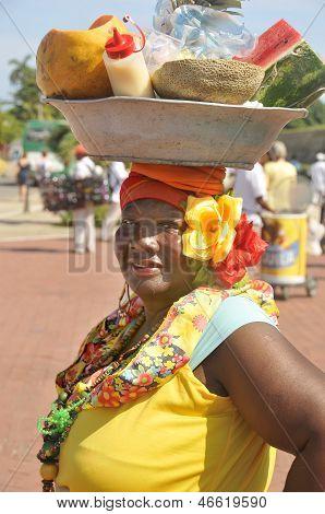 Palenquera woman
