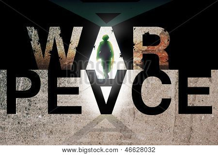 War and Peace. Conflict Concept