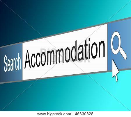 Accommodation Search.