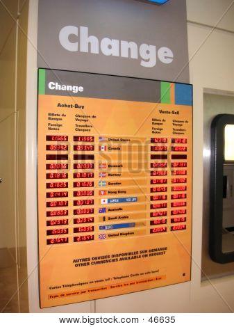 Currency Exchange Display