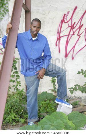 Half Length Man Portrait