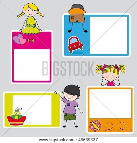 Childrens frame