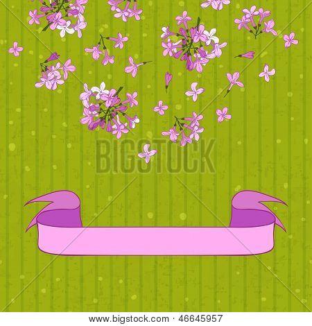 Lilac&ribbon