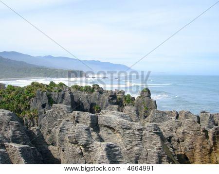 Punakaiki Pancake Rock Stacks, New Zealand