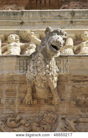 Gargoyle Of Astorga Cathedral