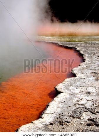 Geothermal Champagne Pool