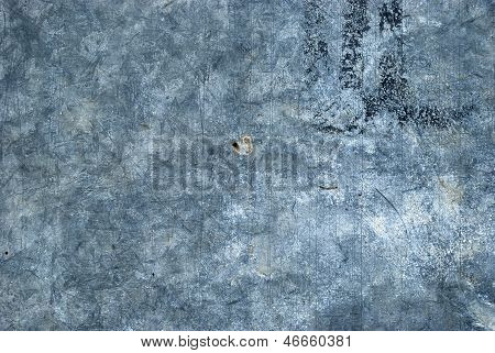 Galvanized steel surface
