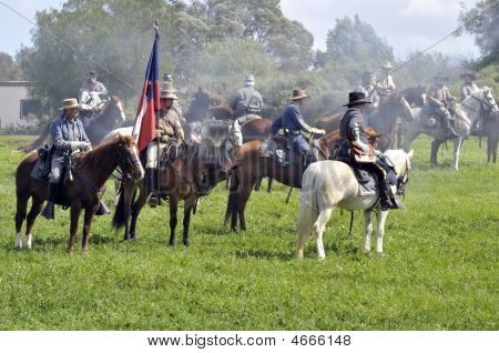 Civil War - Confederate Cavalry