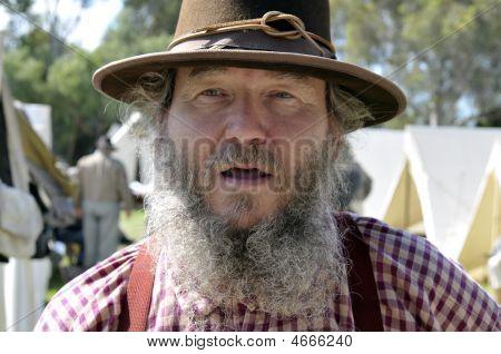 Civil War Confederate Soldier