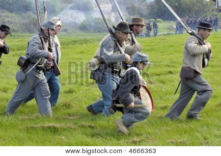 Running Toward The Battle