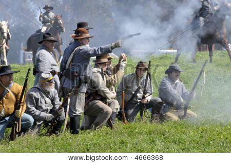 Confederate Troops In The Civil War