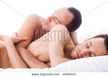 Sleeping 2 Men