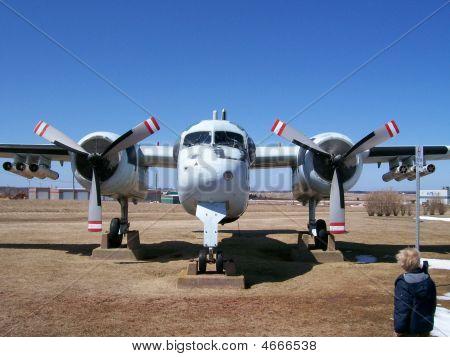 War Plane Front View