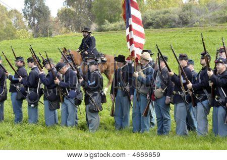 Civil War - Gettysburg - Union Troops