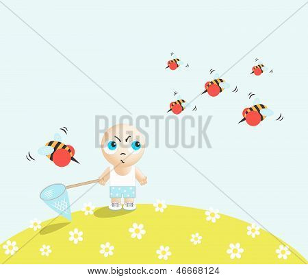 Boy Against Bees