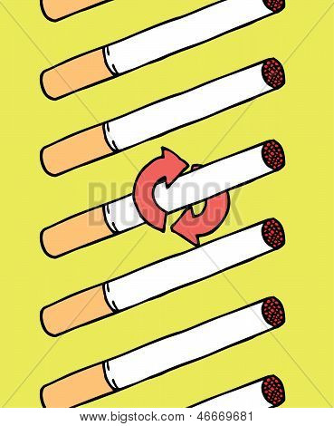 Smoking Cigarrettes Addiction
