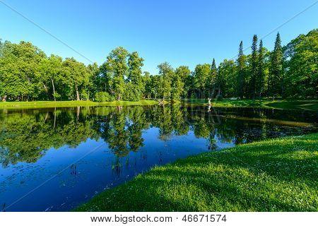 Summer City Park. Russia