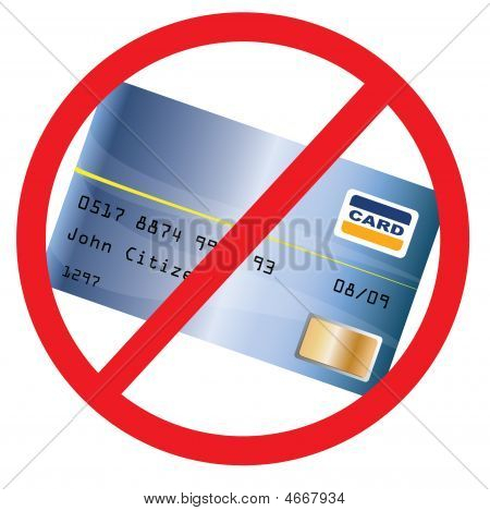 Not Accepted Creditcard
