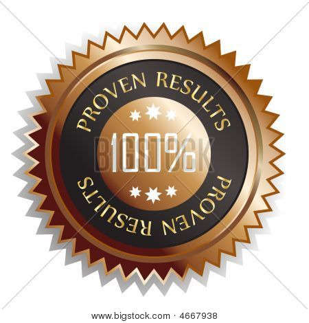 Proven Results Sticker