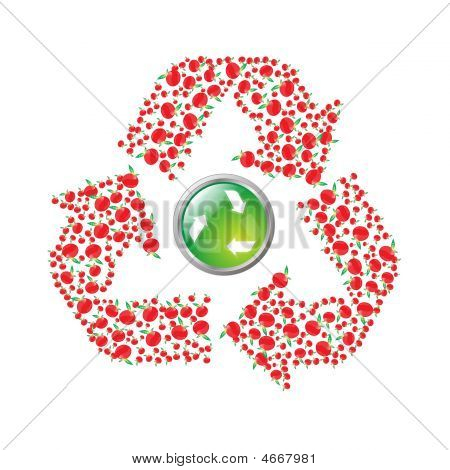 Apple Recyling Symbol