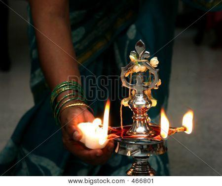 Hindu Candles