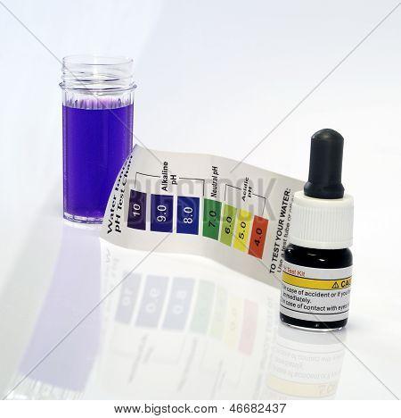 Reagente de ph teste água alcalina