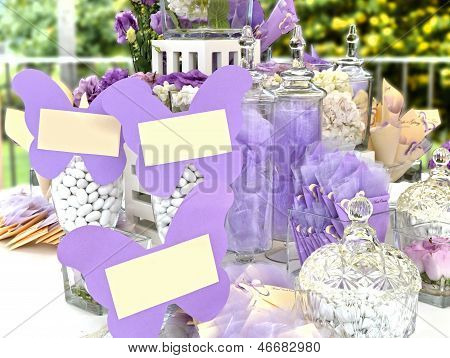 Marriage - Table of sweets