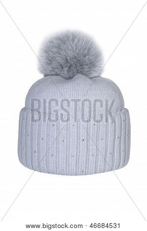 Winter hat isolated