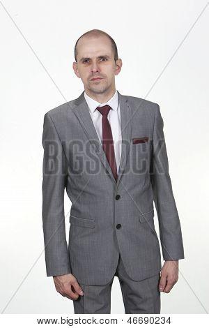 Stylish Slim Businessman