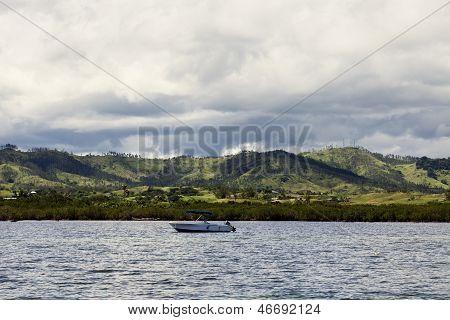 Fiji From The Ocean