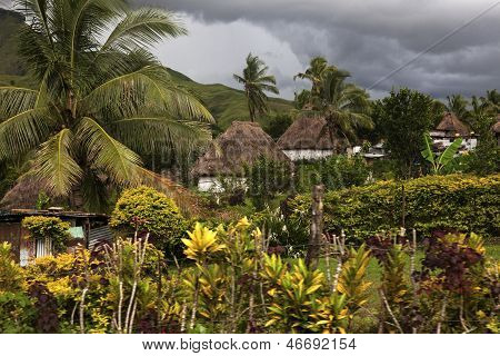 Traditional Fijian Vilage - Navala