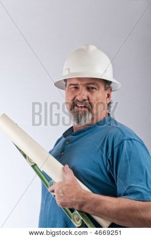 Construction Worker With Attitude
