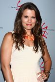 LOS ANGELES - JUN 4:  Melissa Claire Egan arrives at SAG-AFTRA Panel Discussion With The Cast Of